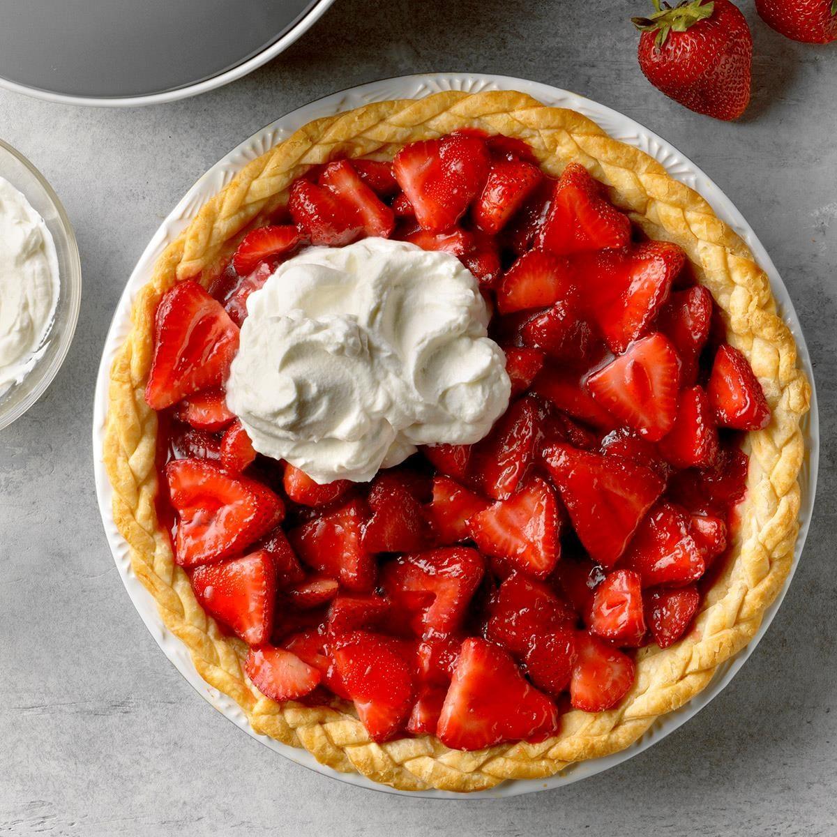 Easy Fresh Strawberry Pie Exps Tmbbp19 34179 B06 20 3b 3