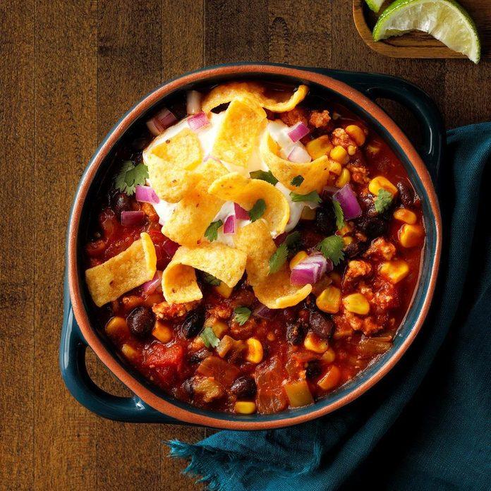 Effortless Black Bean Chili