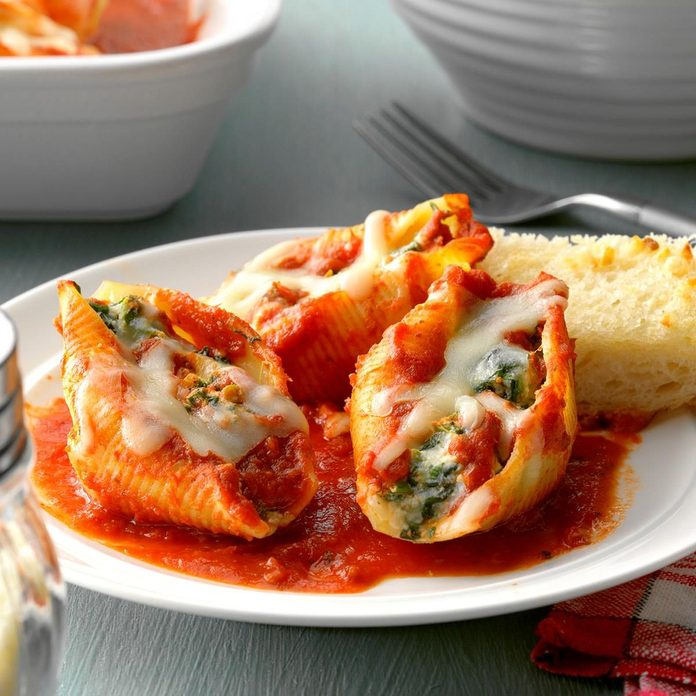 Four Cheese Stuffed Shells recipe