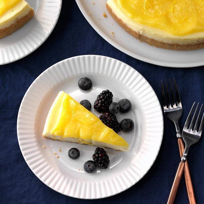Lemon Curd Cheesecake recipe