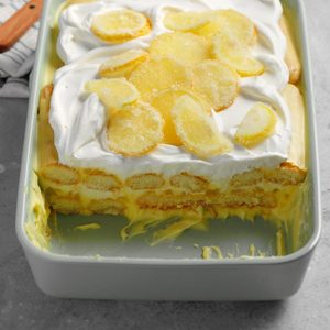 Lemony Limoncello Tiramisu