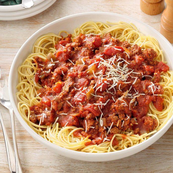 Meaty Spaghetti Sauce recipe