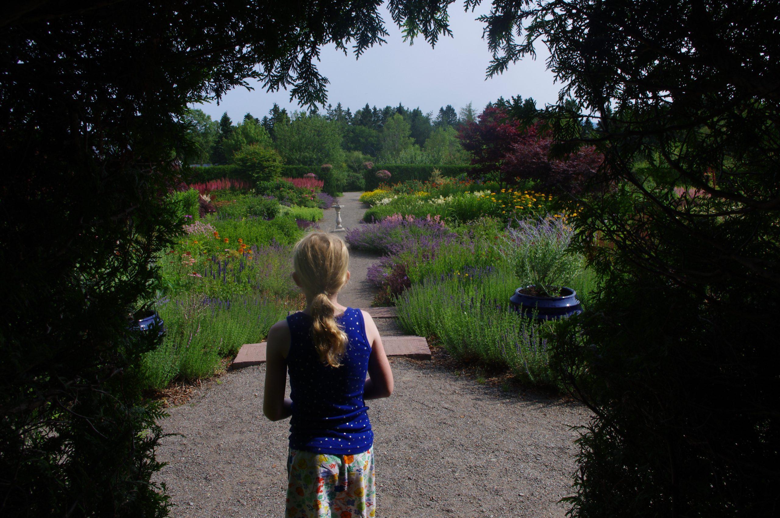 New Brunswick Kingsbrae Botanical Garden