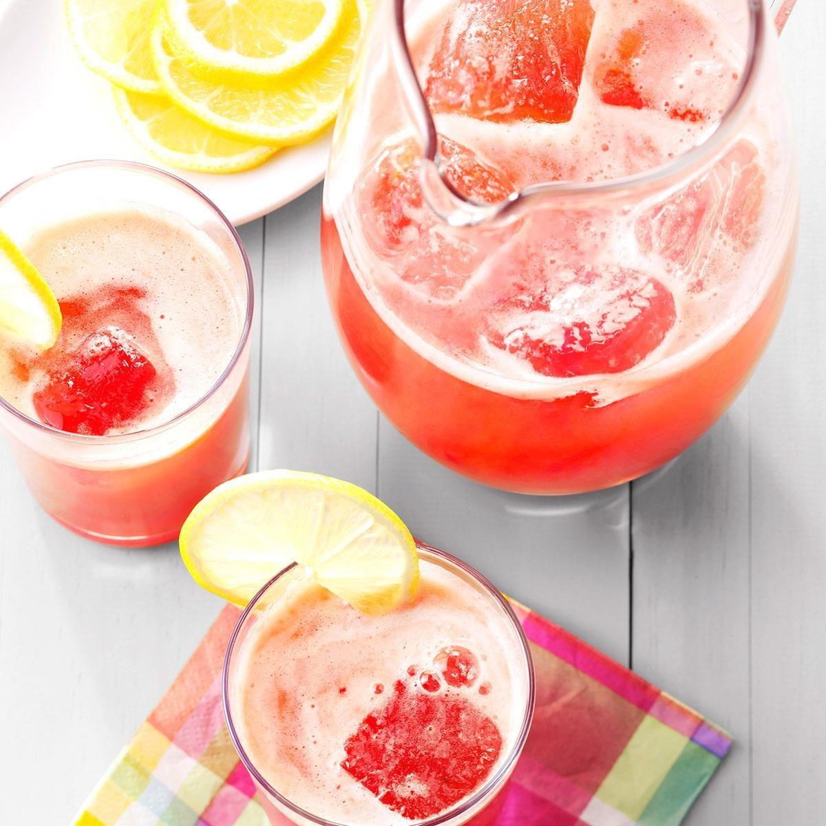 Inspired by: Olive Garden's Raspberry Lemonade