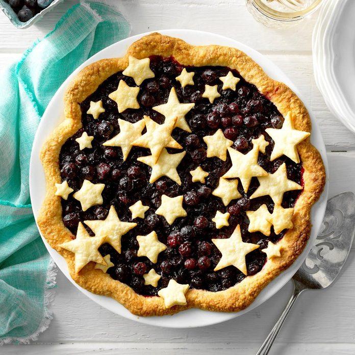 Star-Studded Blueberry Pie recipe