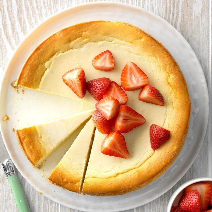 Yogurt-Ricotta Cheesecake recipe