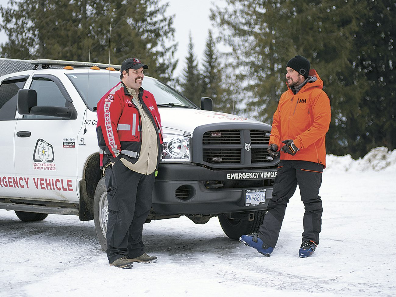 After his ordeal, Gayowski began training to join a search-and-rescue team