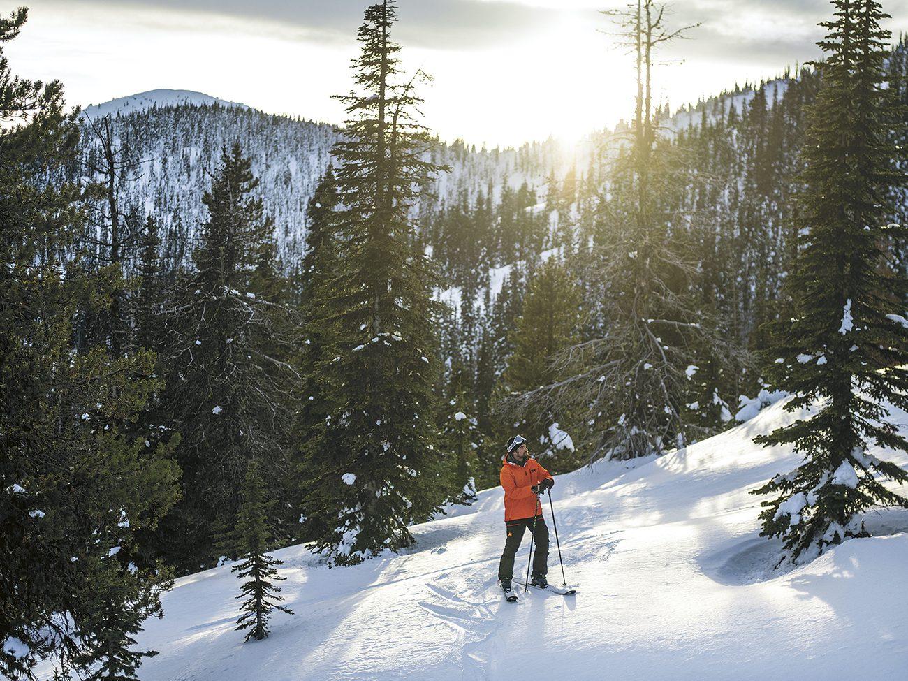 Mark Gayowski on Red Mountain
