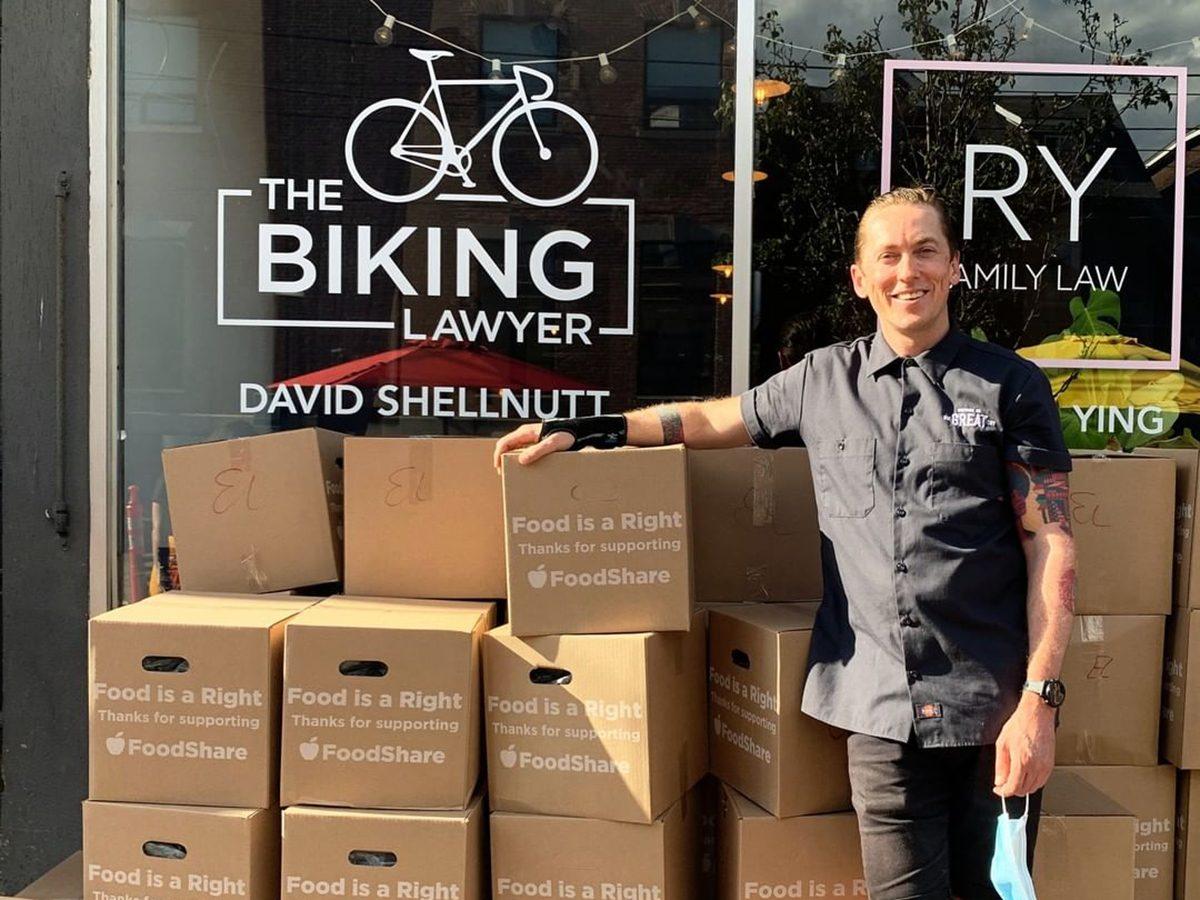 David Shellnutt, founder of The Bike Brigade
