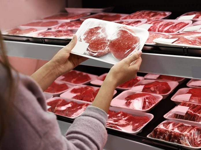 How To Organize Your Fridge - Buying Meat At Grocery Store