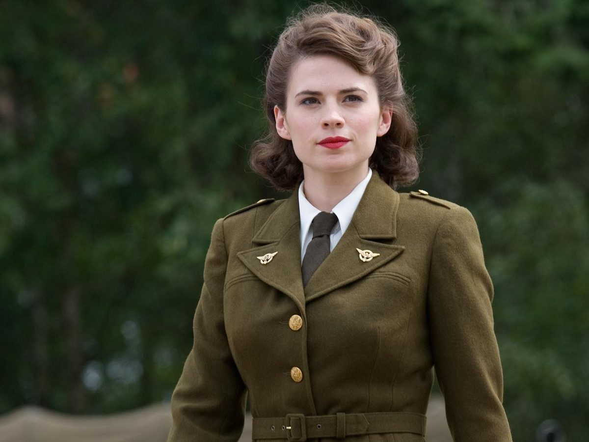 """- Margaret """"Peggy"""" Carter from Captain America, """"The Winter Soldier"""""""