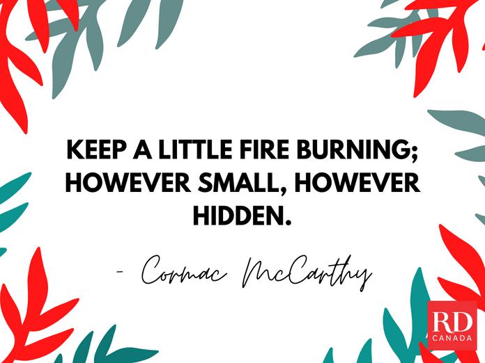 Short Inspirational Quotes - Cormac McCarthy
