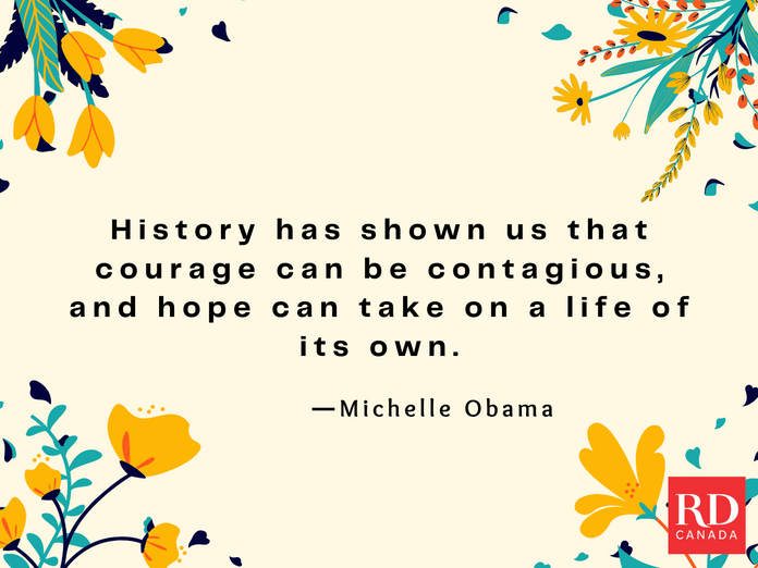 Short Inspirational Quotes - Michelle Obama