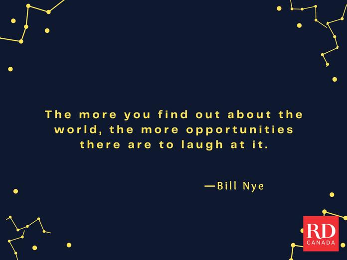 Short Inspirational Quotes - Bill Nye