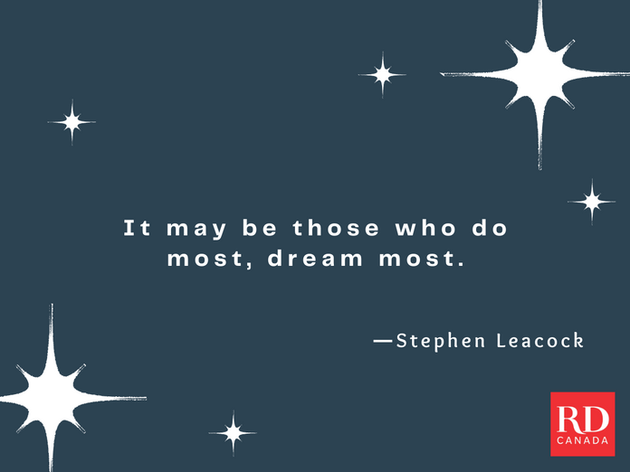 Short Inspirational Quotes - Stephen Leacock