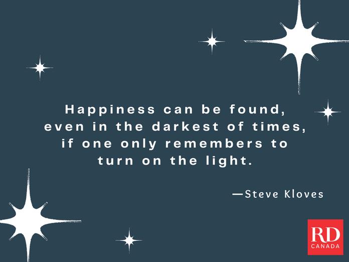 Short Inspirational Quotes - Steve Kloves