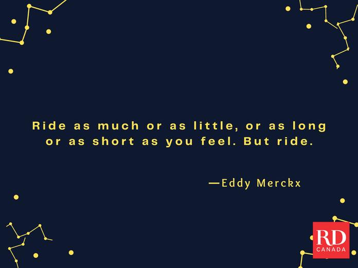 Short Inspirational Quotes - Eddy Merckx