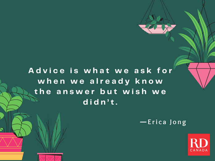 Short Inspirational Quotes - Erica Jong
