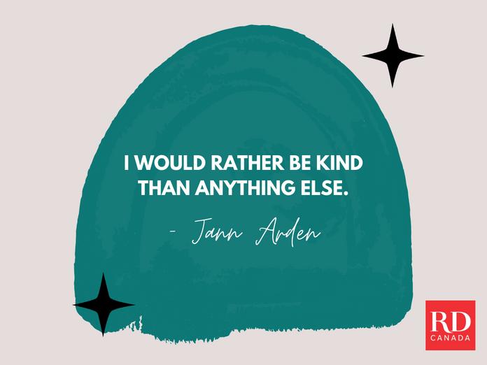 Short Inspirational Quotes - Jann Arden