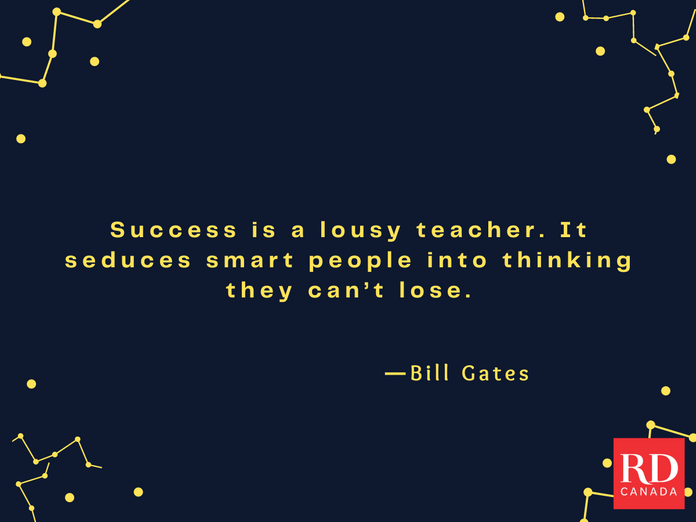 Short Inspirational Quotes - Bill Gates