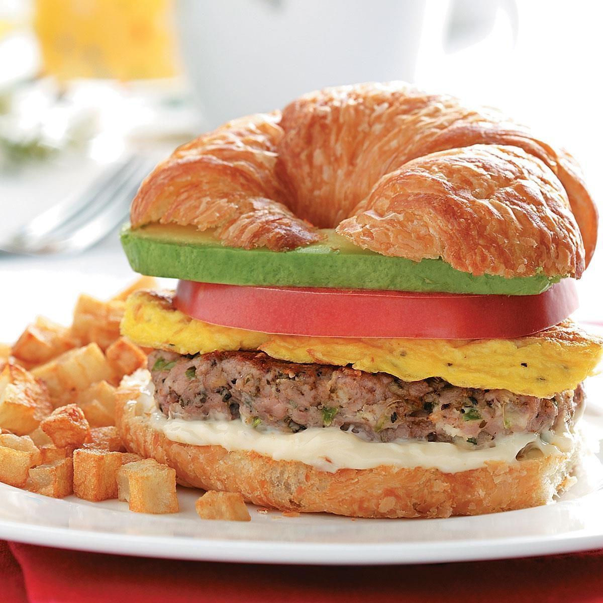 Inspired By: Starbucks Sausage, Cheddar & Egg Breakfast Sandwich
