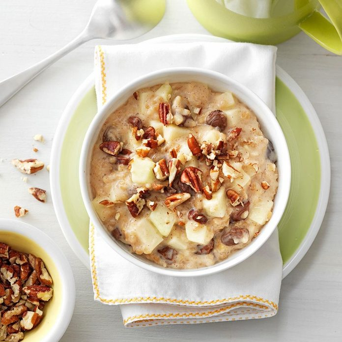 Raisin Nut Oatmeal recipe