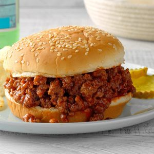 Sloppy Joes Sandwiches