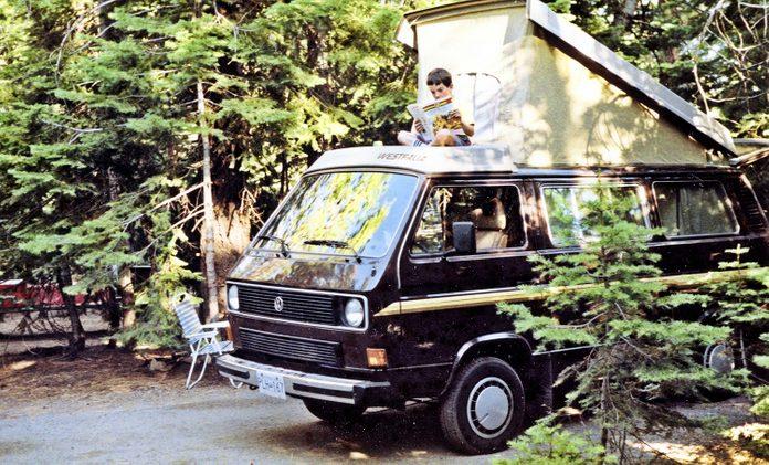 Road Trip Trailer - VW Van In Banff