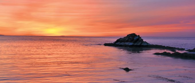 St Martins New Brunswick - Sunrise Over The Bay