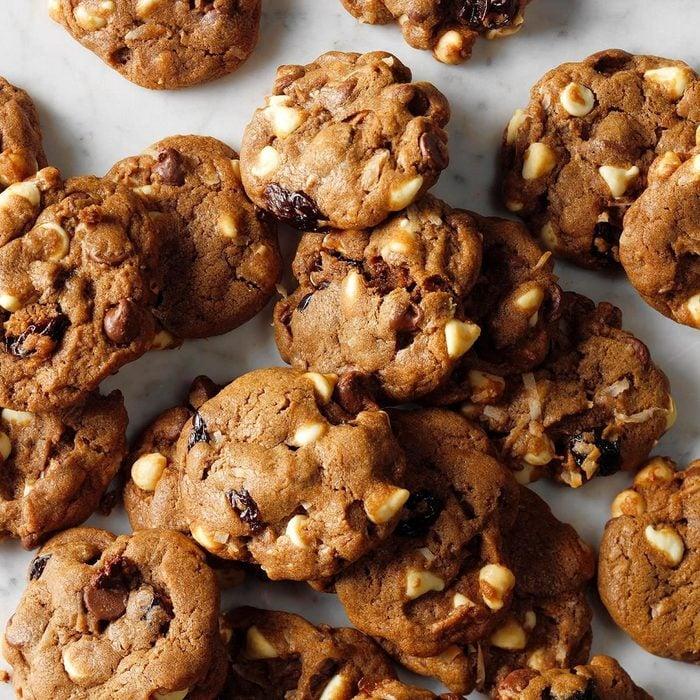 Chocolate Chip-Cherry Chunk Cookies