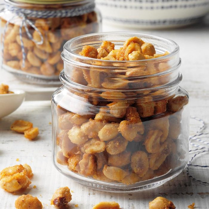 Sweet & Spicy Peanuts