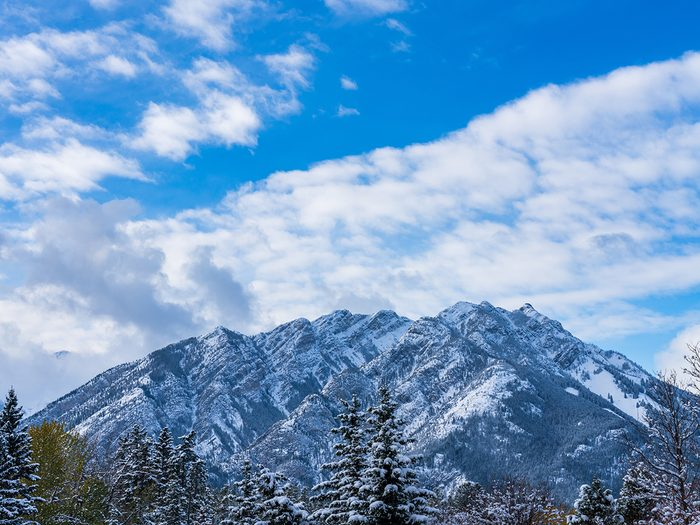 Canadian Rockies quiz - popular ski mountain Banff