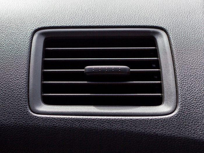 car A/C vent