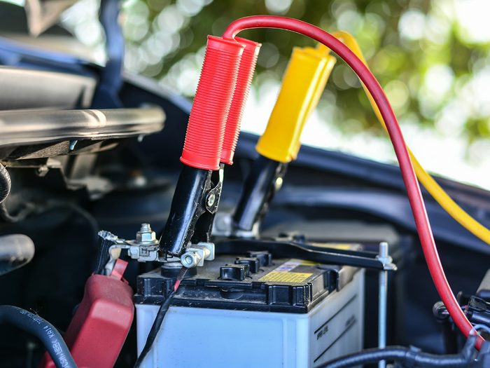 When you don't drive your car - car battery loses charge