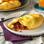 Meaty Sloppy Joe Pockets