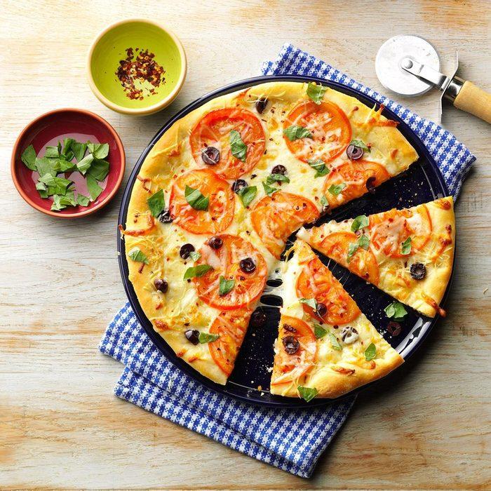 Mama Rachel's Mediterranean Pizza recipe