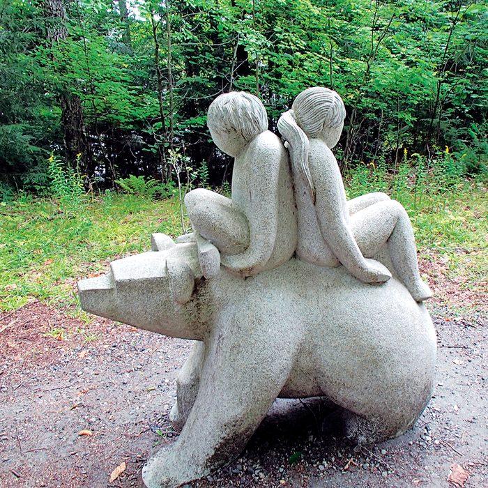 Haliburton Highlands - Sculpture Garden statuary
