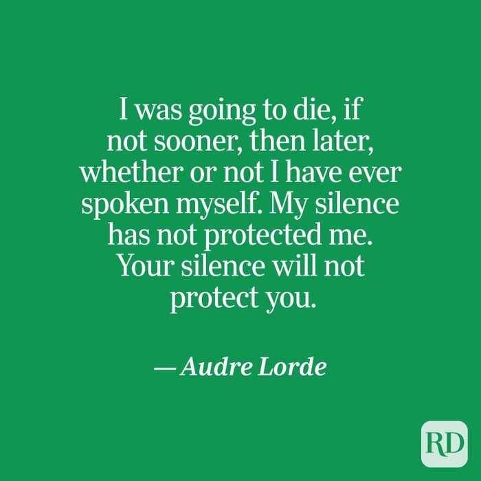 Lorde quote on green
