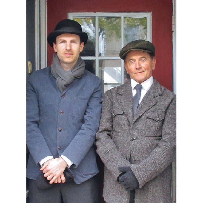 Murdoch Mysteries Filming Locations - Background actors in Cobourg