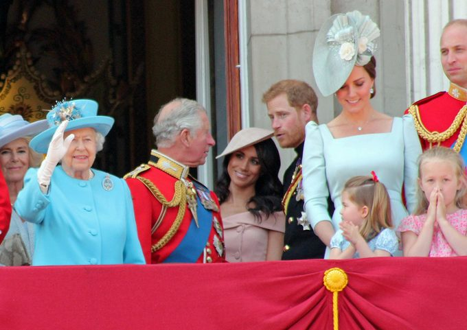 Royal family rules - Trooping the Colour 2018