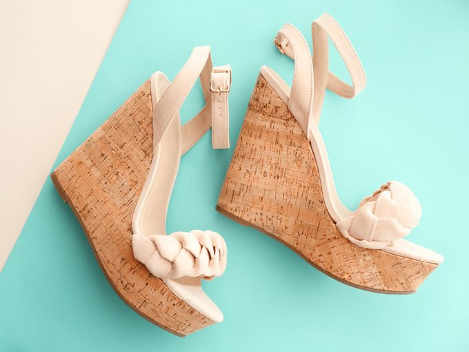 Royal family rules - wedge shoes