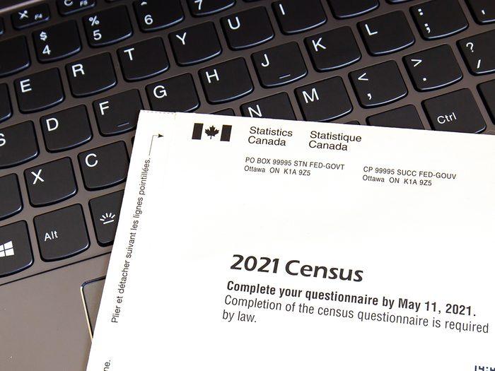 Statistics Canada census 2021