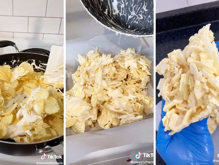 Tiktok Potato Chip Square Cropped