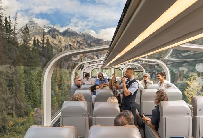 Train Across Canada - Rocky Mountaineer