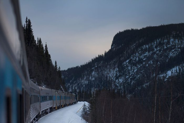 Train Across Canada - Tshiuetin