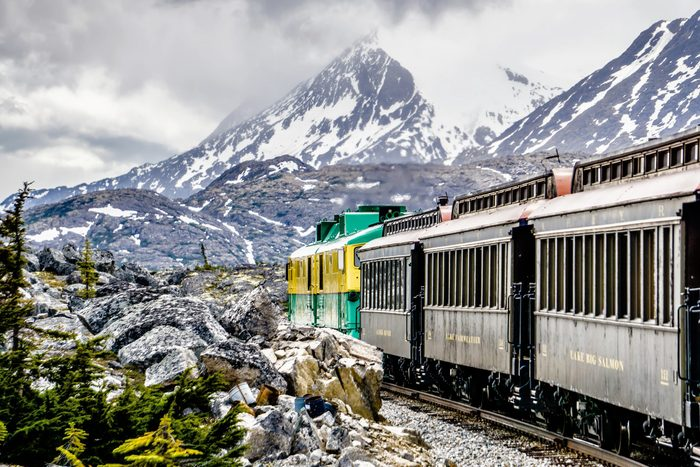 Train Across Canada - White Pass and Yukon Route