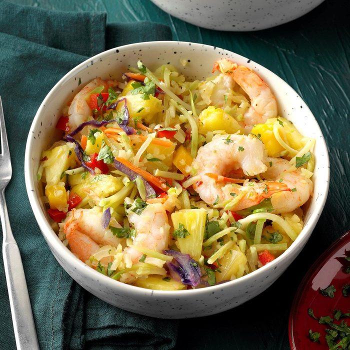 Caribbean Shrimp Bowl - Feature Image