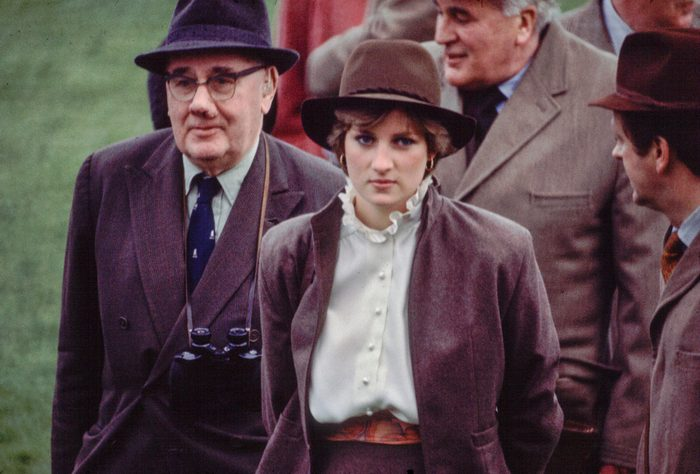 Lady Diana At The Races