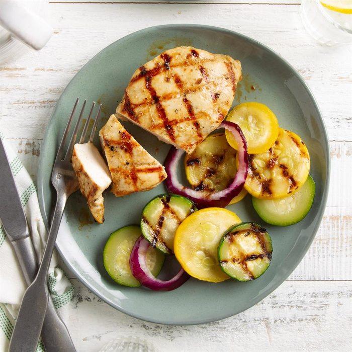 Grilled Caesar Chicken