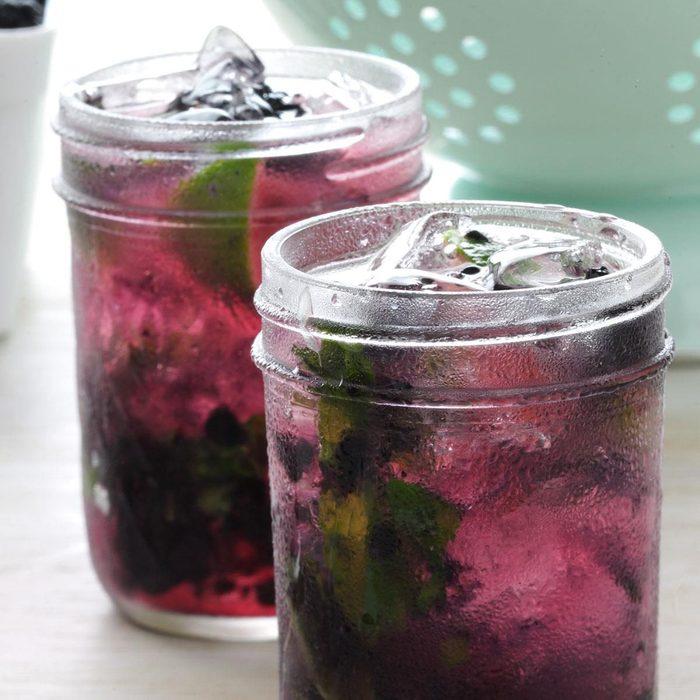 Maple Blackberry Mojito recipe